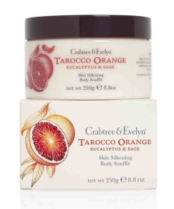 Crabtree and Evelyn Tarocco Orange, Eucalyptus and Sage Body Souffle 250g