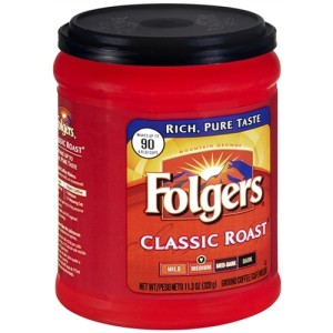 Folgers Classic All Purpose Medium Roast® Ground Coffee 320g