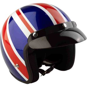 Viper RS-04 Union Jack Open Face Motorcycle Helmet