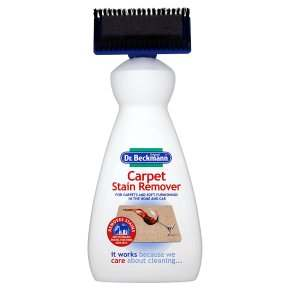 Dr Beckmann Carpet Stain Remover with cleaning brush 650ml
