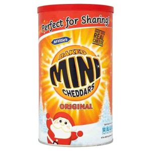Mcvitie's Baked Original Mini Cheddars Caddy 260g