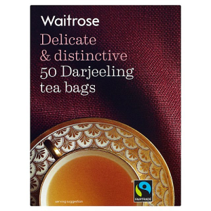 Waitrose Delicate & Distinctive 50 Darjeeling Tea Bags