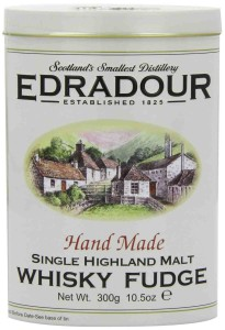 Gardiners Edradour Malt Whisky Fudge Tin 300g