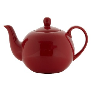 Debenhams Stoneware Red Teapot 900ml