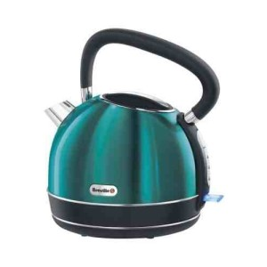 Breville Rio Teal Stainless Steel Traditional Kettle 1.7L