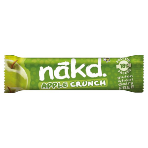 Nakd Free From Apple Crunch Fruit & Nut Bar 30g