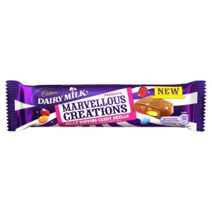 Cadbury Dairy Milk Marvellous Creations Jelly Popping Candy Bar 47g