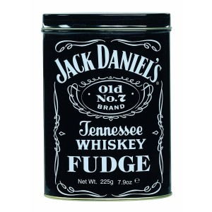 Gardiners Jack Daniel's Tennessee Whiskey Fudge 300g Tin