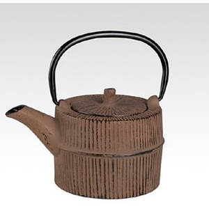 Silea Cast Iron Brown Teapot 0.75L with Infuser