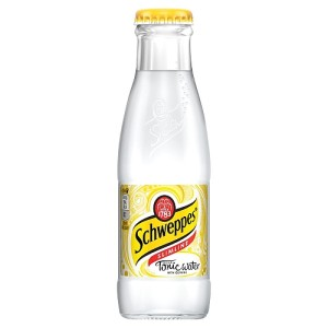 Schweppes Slimline Tonic Water Glass Bottle 24 x 125ml