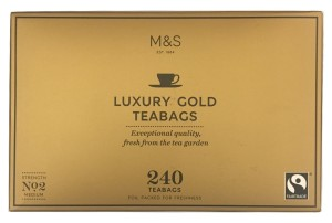 Marks & Spencer Luxury Gold Herbata 240 Torebek