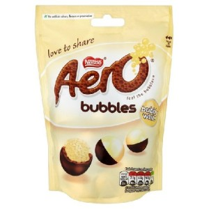Aero White Bubbles Pouch Bag 113g
