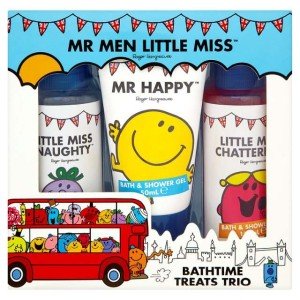 Mr Men Britannia Bath Time Treats Trio Set
