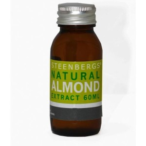Steenbergs Natural Almond Extract 60ml