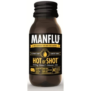 Manflu Hot or Shot Food Supplement 60ml
