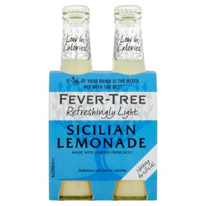 Fever-Tree Refreshingly Light Sicilian Lemonade 4 x 200ml