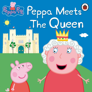 Ladybird -  Peppa Meets The Queen Story Book Paperback