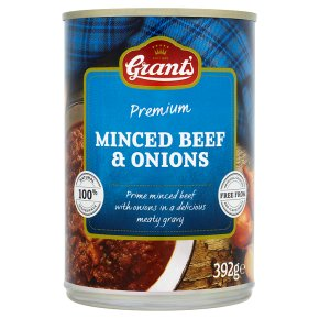 Grant's Premium Minced Beef & Onion 392g