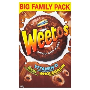 Weetabix Weetos Chocolate Flavour 500g