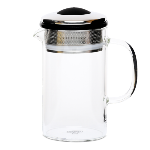 Brew Tea Co Borosilicate Glass Brew Tea Pot 400ml - Various Colours.png