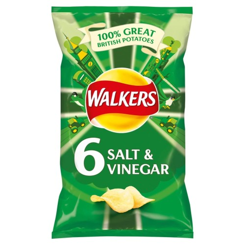 Walkers Salt & Vinegar Crisps 25g x 6 per pack.jpg