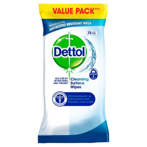 Dettol Antibacterial Surface Cleansing Wipes 70 per pack.jpg