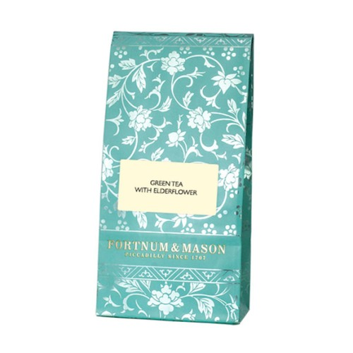 Fortnum& Mason Green Tea with Elderflower Loose Leaf Tea Bag 125g.jpg