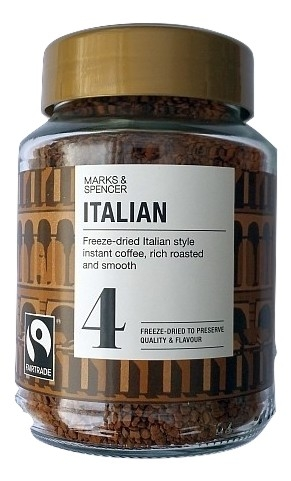 marks and spencer italian instant coffee_burned.jpg