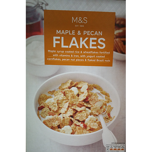 Marks & Spencer Maple & Pecan Flakes.png