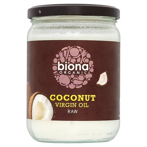 Biona Organic Virgin Coconut Oil - Raw 400g.jpg