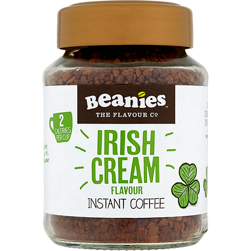 Beanies Irish Cream Flavour Instant Coffee 50g.png