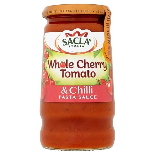 Sacla' Whole Cherry Tomato & Chilli Pasta Sauce 350g.jpg