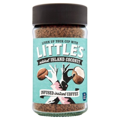 Little's Island Coconut Flavour Infused Instant Coffee 50gLittle's Island Coconut Flavour Infused Instant Coffee 50g.jpg