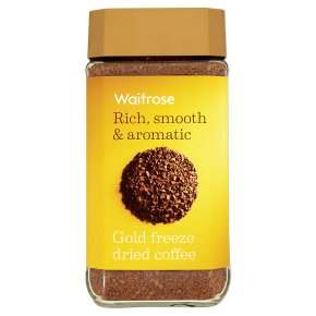 Waitrose gold freeze dried coffee 200g.jpg