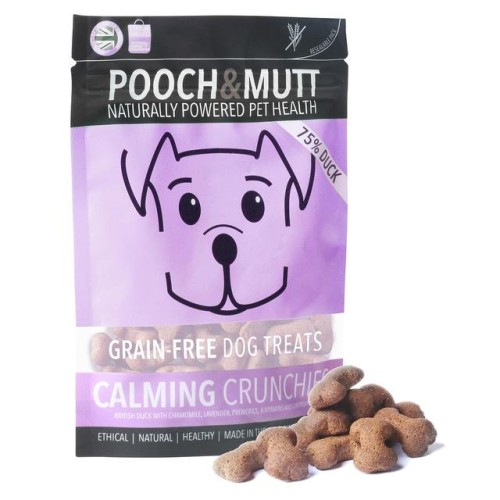 Pooch & Mutt Calming Crunchies Grain Free Treats 80g.jpg