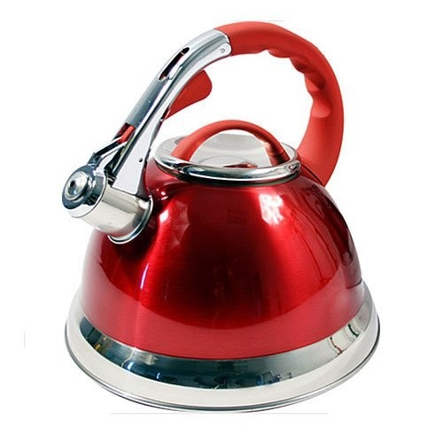 3.5 Litre Prima Whistling Stove Top Kettle - Red.jpg