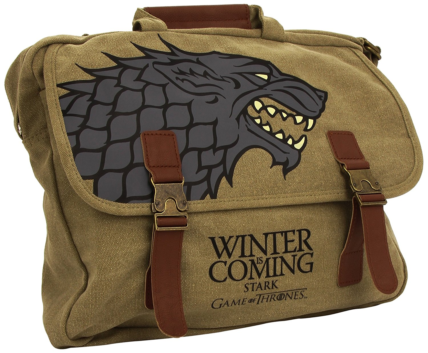 Game Of Thrones House Of Stark Winter Is Coming Messenger Bag