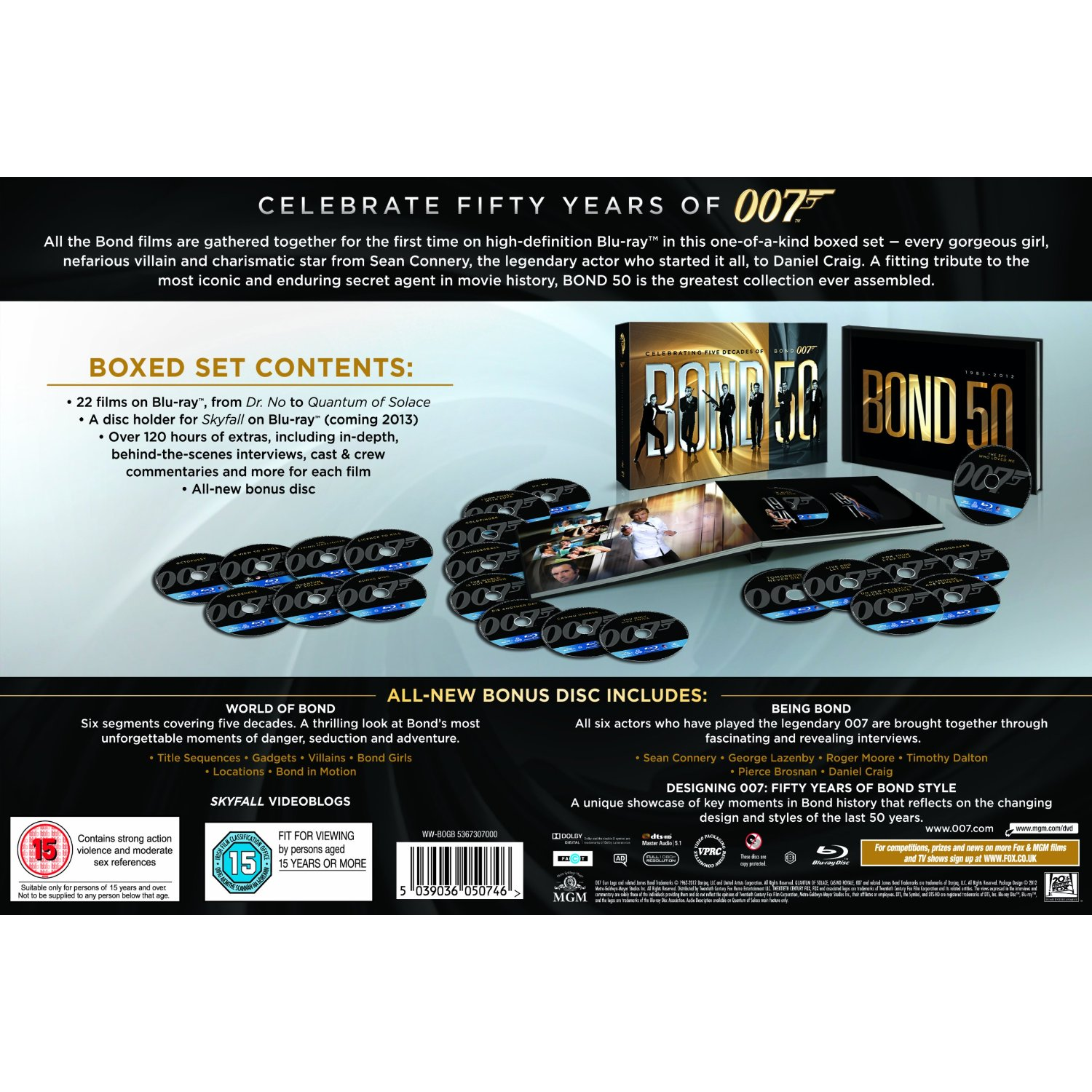 James Bond 22 Collection [Blu ray]