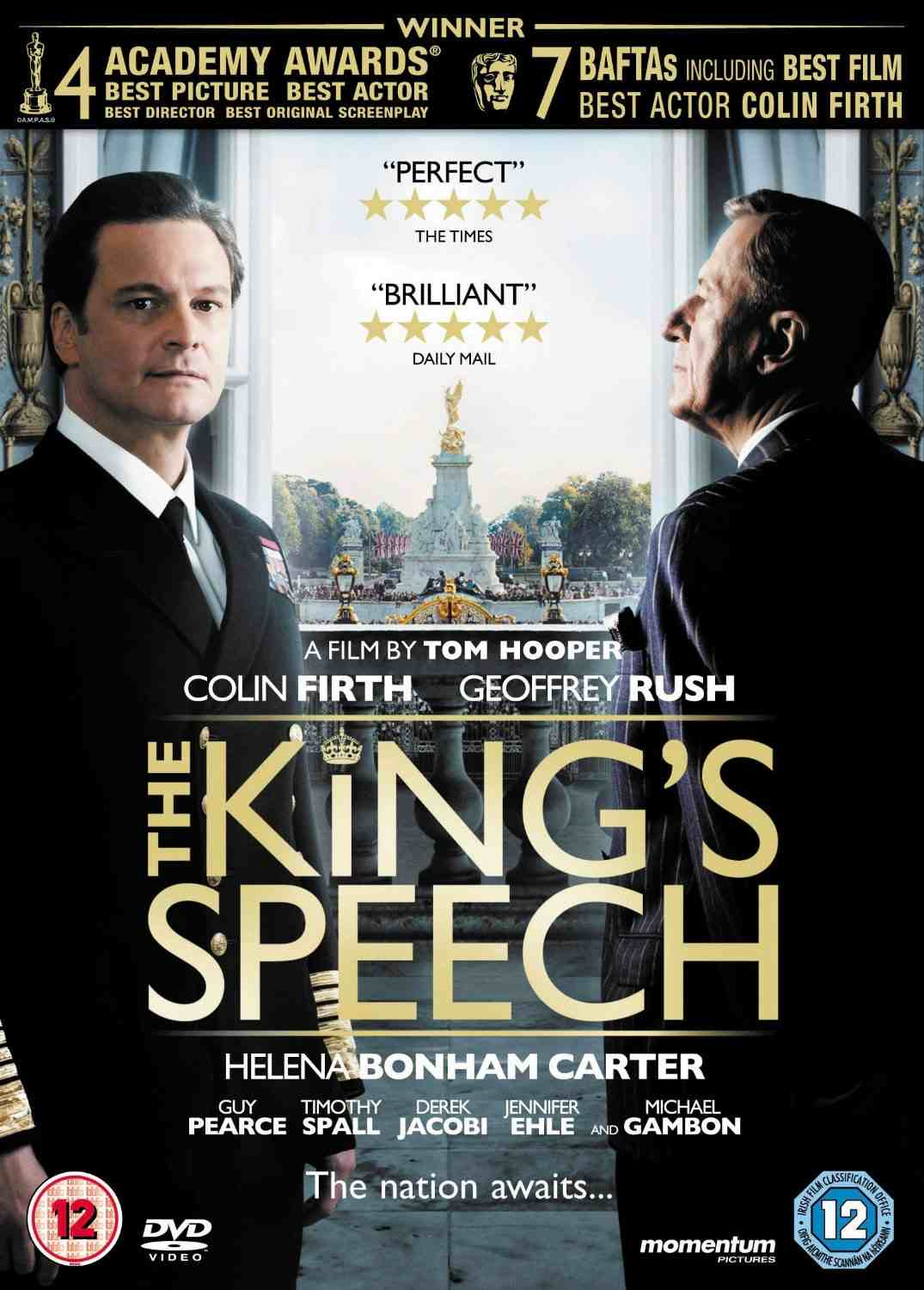 kings speech summary
