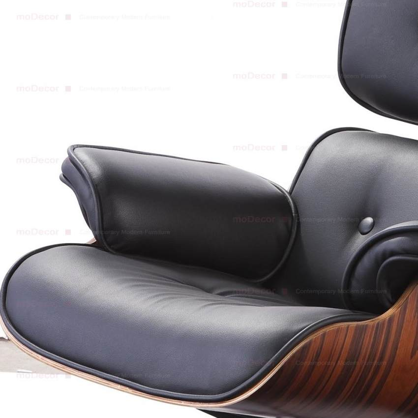 Marvelous Charles Eames Lounge Chair And Ottoman Black Reproduction Alphanode Cool Chair Designs And Ideas Alphanodeonline